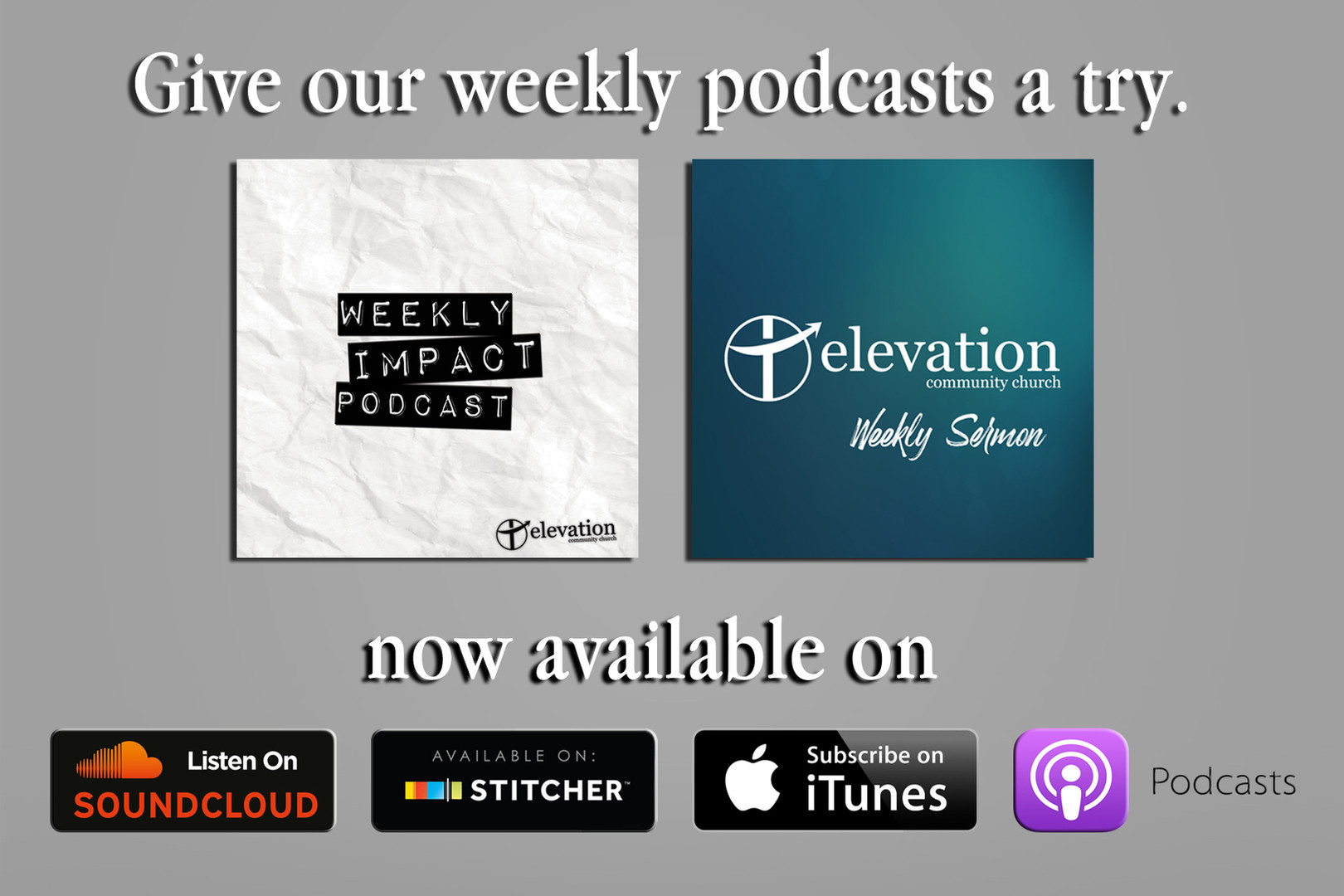 ECC'S WEEKLY PODCASTS