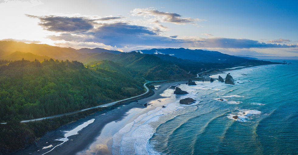 Oregon Coast Sunrise, 2020 Edition Archival Matte Fine-Art Print