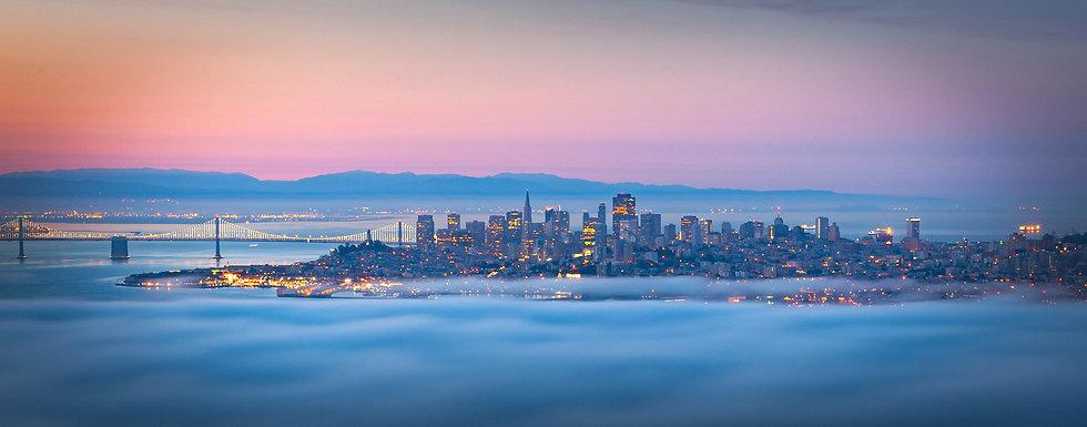 San Francisco Fog, 2020 Edition Archival Matte Fine-Art Print