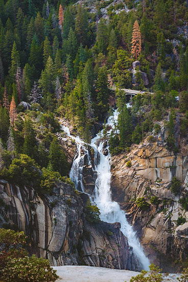 The Cascades, Yosemite, 2020 Edition Archival Matte Fine-Art Print