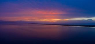 Big Lagoon Sunset