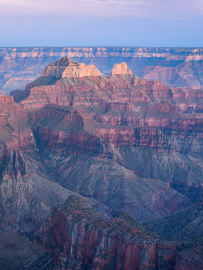 North Rim Layers, 2020 Edition Archival Matte Fine-Art Print