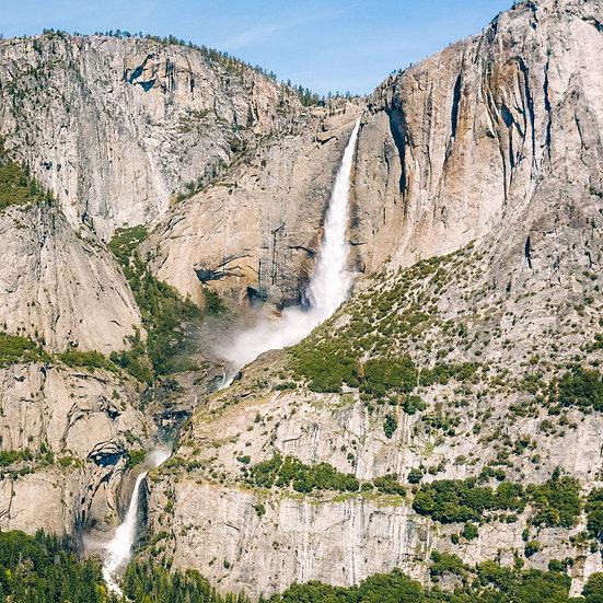 Upper and Lower Yosemite Falls, 2020 Edition Archival Matte Fine-Art Print