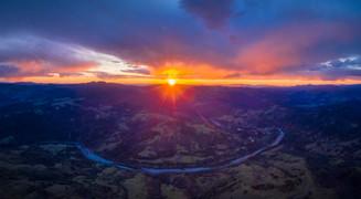 Alderpoint Sunset