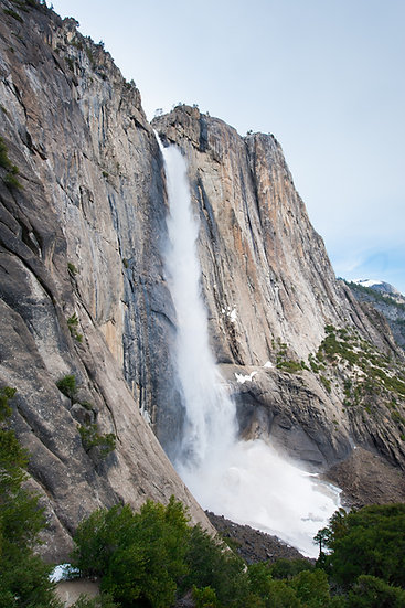 Yosemite Falls Spring Melt, 2020 Edition Archival Matte Fine-Art Print
