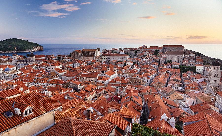 Dubrovnik Rooftops, 2020 Edition Archival Matte Fine-Art Print