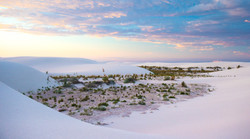 Dusk at White Sands