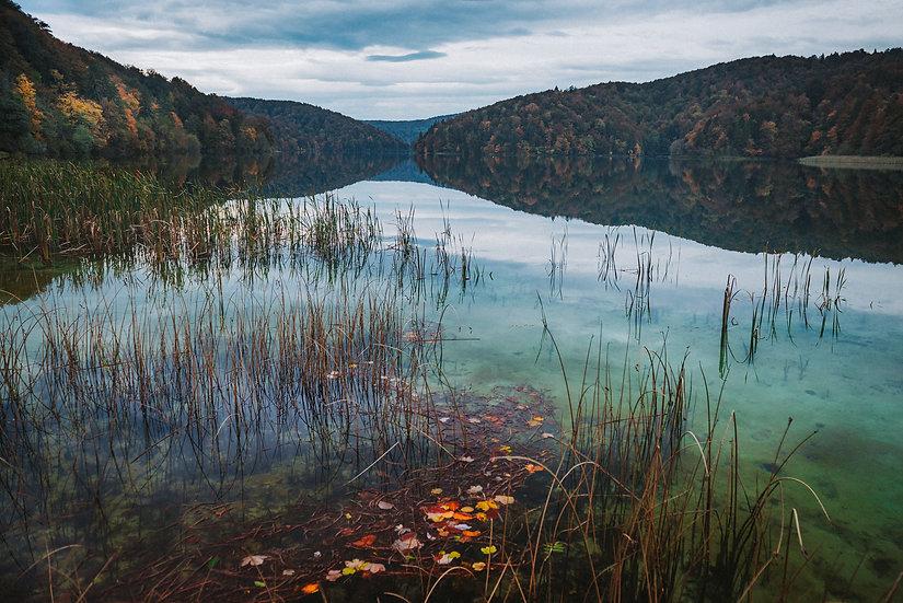 Fall Morning, Plitvice Lakes, 2020 Edition Archival Matte Fine-Art Print