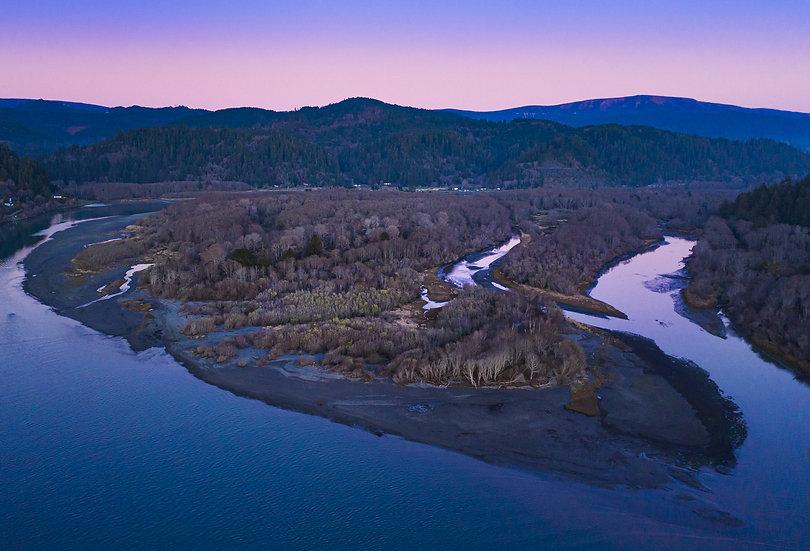Klamath River Sunset, 2020 Edition Archival Matte Fine-Art Print
