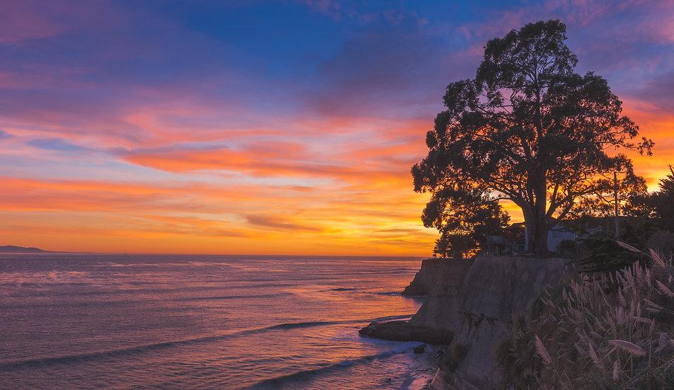 East Cliff Sunset, 2020 Edition Archival Matte Fine-Art Print