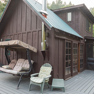 Private Deck and sitting area