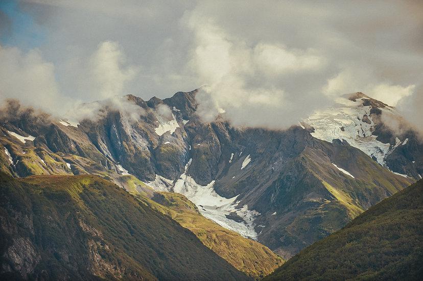 Mountains and Cloud, 2020 Edition Archival Matte Fine-Art Print