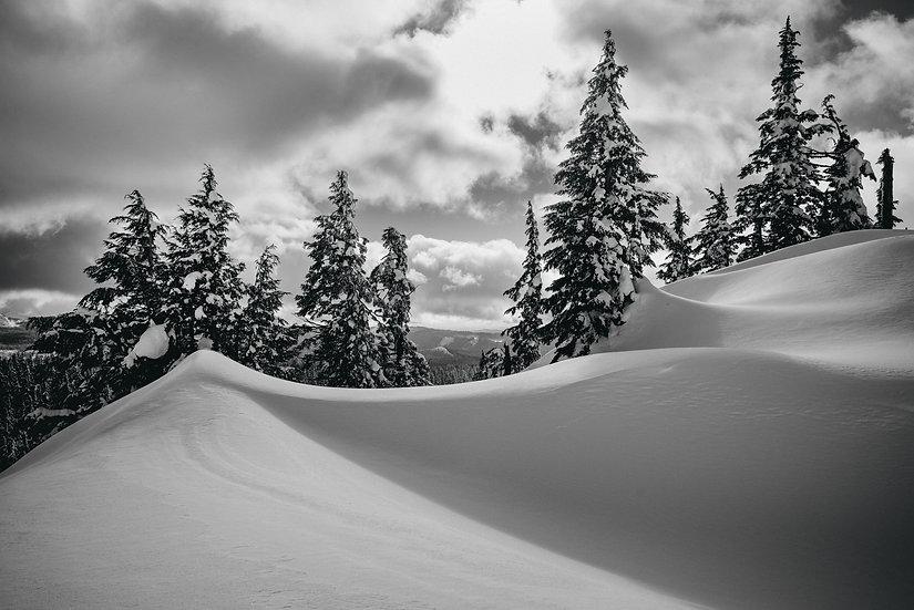 Snowdrift Peaks, 2020 Edition Archival Matte Fine-Art Print