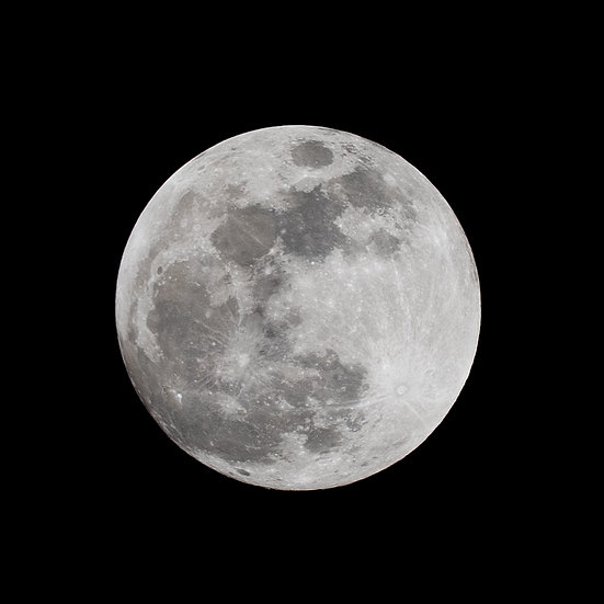Full Moon, 2020 Edition Archival Matte Fine-Art Print