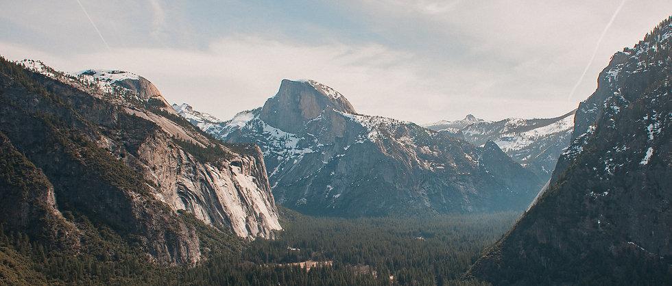 Half Dome and Yosemite Valley, 2020 Edition Archival Matte Fine-Art Print