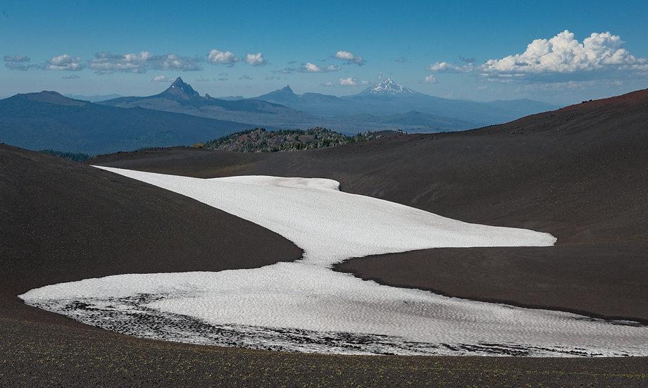 Glacier and Peaks, 2020 Edition Archival Matte Fine-Art Print