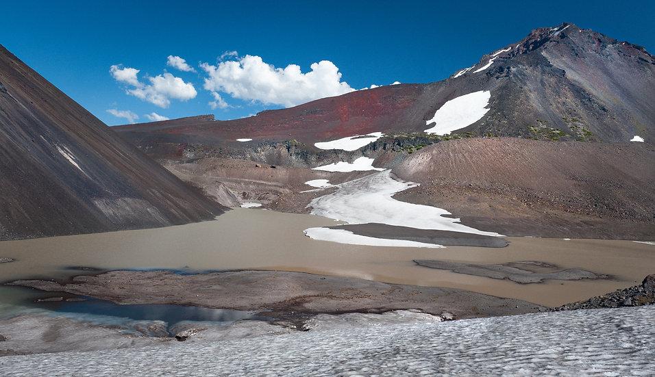Glacial Lake, North Sister, 2020 Edition Archival Matte Fine-Art Print