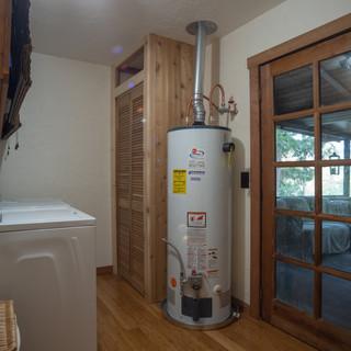 Laundry room and second fridge/freezer
