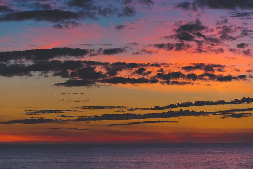 Pastel Sunset, Oregon Coast, 2020 Edition Archival Matte Fine-Art Print