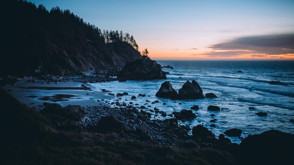 Secret Beach Sunset