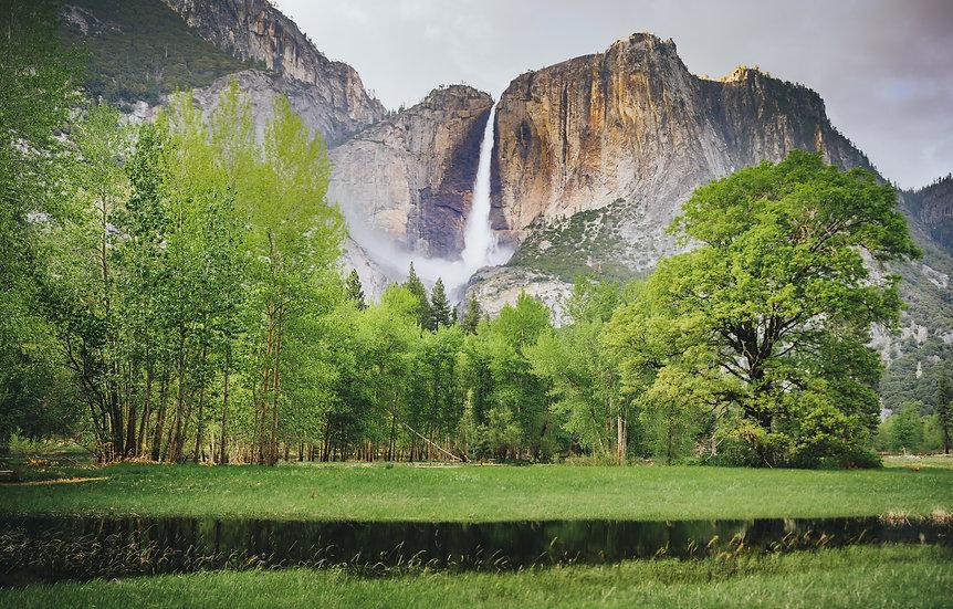 Yosemite Falls, Spring, 2020 Edition Archival Matte Fine-Art Print