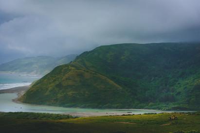 Hillside and Cloud