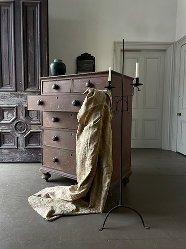 19thC PINE CHEST OF DRAWERS