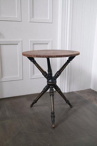 19th CENTURYEBONISED GYPSY TABLE