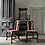 Thumbnail: PAIR OF WALNUT SIDE CHAIRS BY HOWARD AND SONS