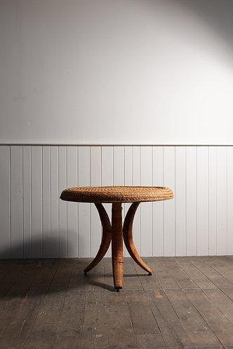 FUTURISTIC TRIBAL RATTAN CENTRE TABLE