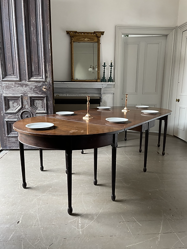 CHIPPENDALE PERIOD D END DINING TABLE