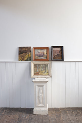 GROUP OF FOUR 20TH CENTURY LANDSCAPES