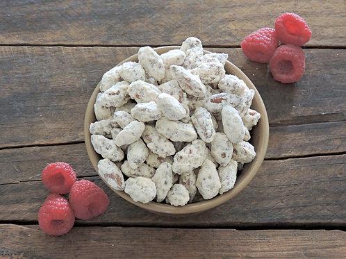 Raspberry Honey Almonds