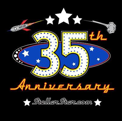 Stellar 35th Anniversary logo
