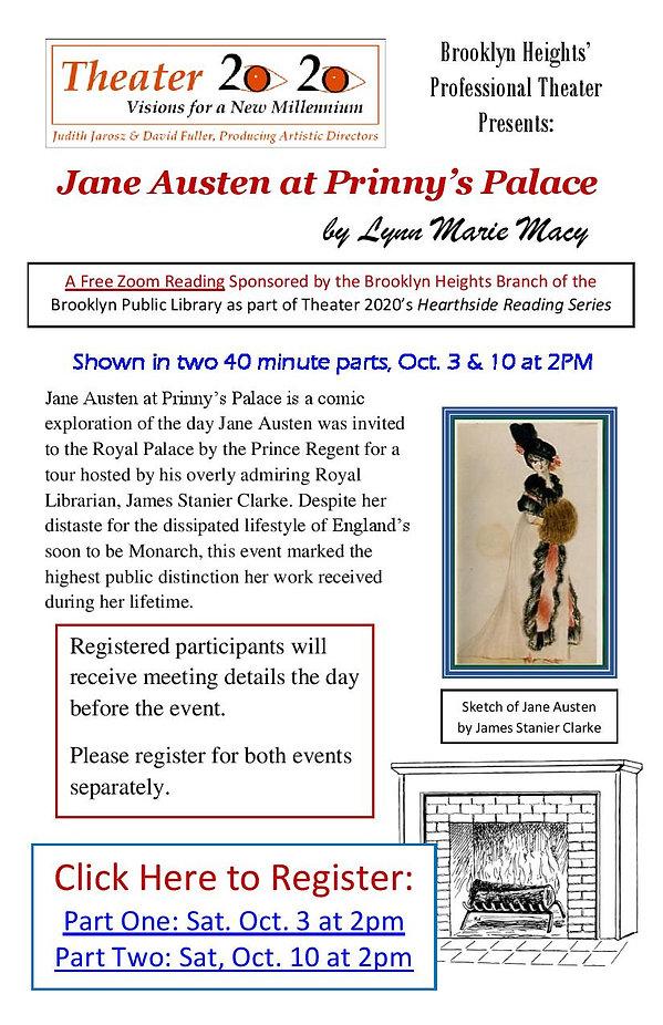 Jane Austen at Prinnys Palace Virtual Re