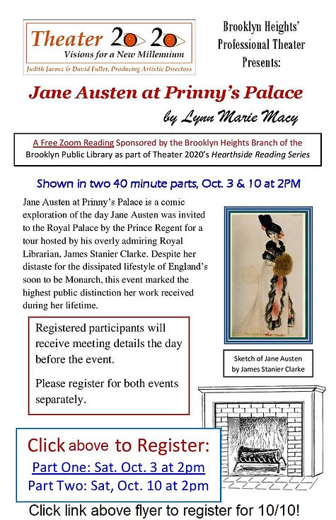 Jane Austen at Prinnys Palace Virtual Re