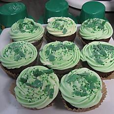 Chocolate Mint Cupcakes per dozen