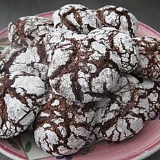 Chocolate Crinkle Cookies (per dozen