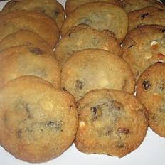 White Chocolate Cranberry Sugar Cookies For  Dozen (12)