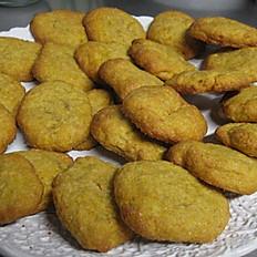 Sugar Free Pumpkin Cookies 1/2 Dozen (6)