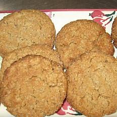 Sugar Free Peanut Butter Cookies 1/2 Dozen (6)