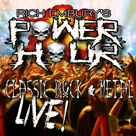 (Podcast) LIVE Classic Rock & Metal [Extended] // Rich Embury's Power Hour