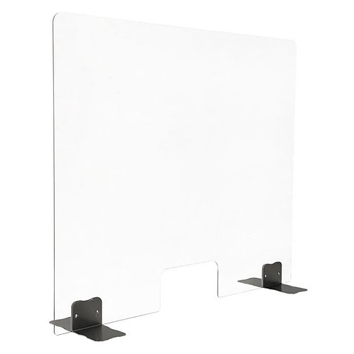 Plexiglass Screen With Cut Out 650X850MM