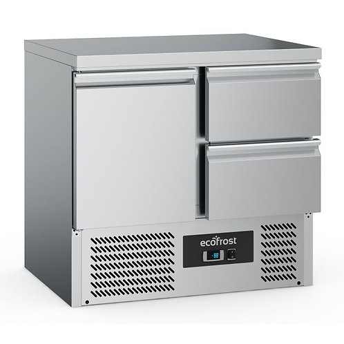 Refrigerated Counter 1 Door/2 Drawers