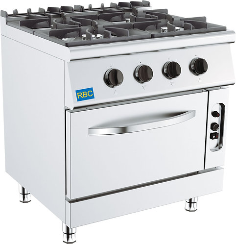 700 Gas Stove 4 Burner w/ Gas oven