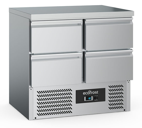 4 Drawer Refrigerated Counter