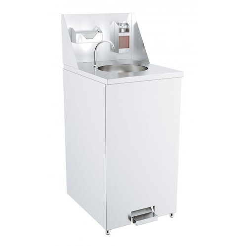 Mobile Hand Wash Station - Foot Controlled Faucet