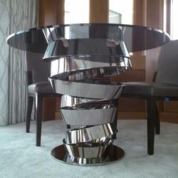 Stainless Steel Designer Table Base