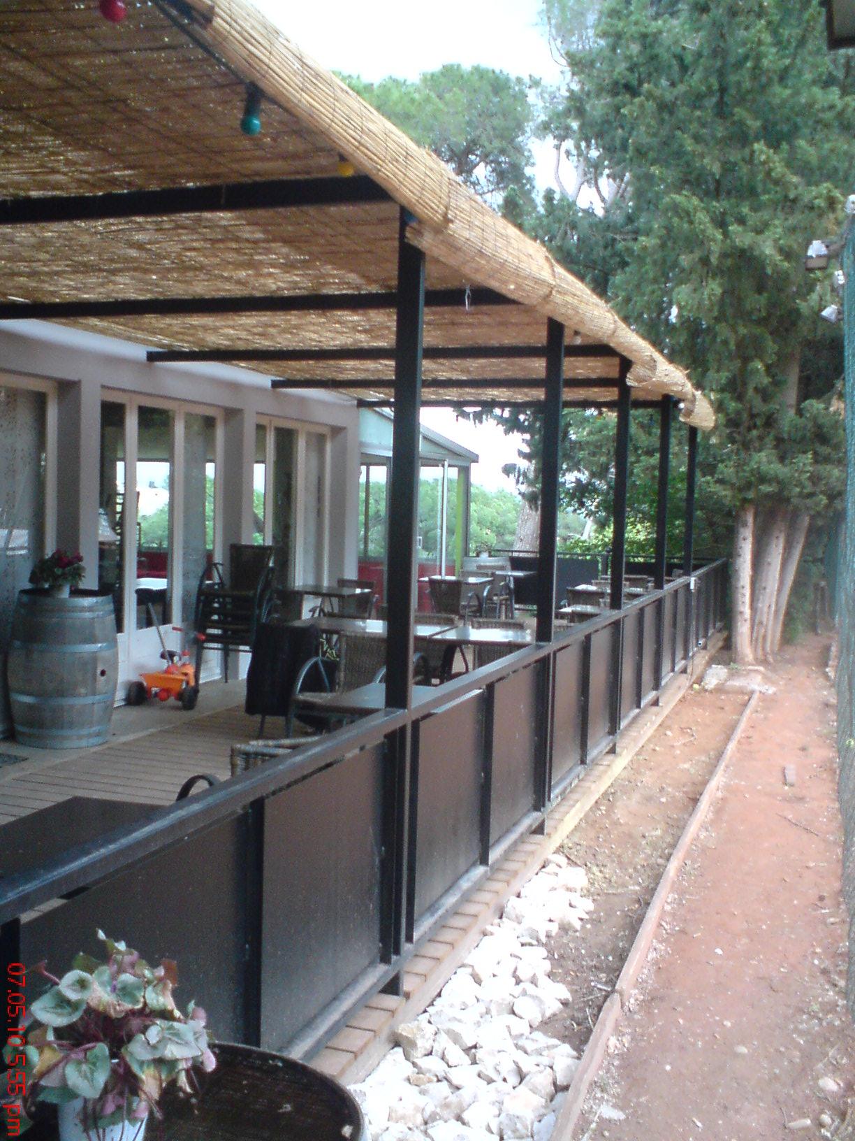 Restaurant Canopy, Pergola