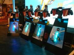 Flyboard Displays